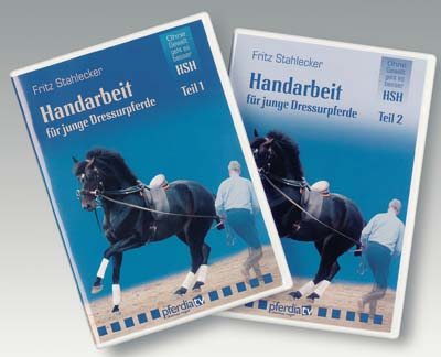 DVD: Handarbeit für junge Dressurpferde